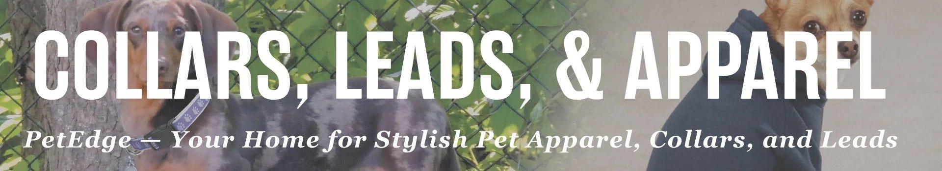 Collars, Leads, & Pet Apparel