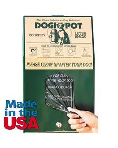 DOGIPOT Aluminum Header Pak Junior Bag Dispensers