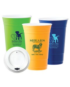 Promotional Tumbler Cups with Lids
