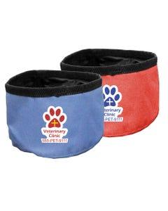 Promotional Nylon Travel Dog Bowls