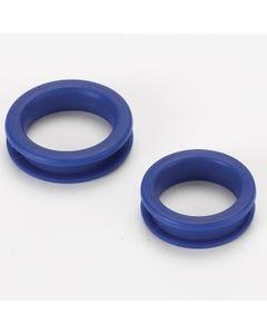 Heritage Rubber Finger Ring Blu