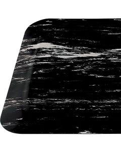 Foot Ease Recessed SemCir Mat 3x5Ft Blk