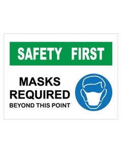 """Mask Required - 18"""" x 24"""" Business Signs"""