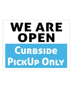 """We Are Open - 18"""" x 24"""" Business Signs"""