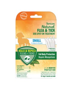 TropiClean Flea & Tick Spot Treatment for Dogs 4-pk