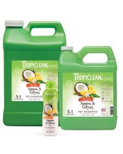 TropiClean Neem & Citrus Flea & Tick Shampoos