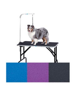 Master Equipment Grooming Table with Arm