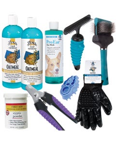 Home Groom Kit Double Coat Dogs L