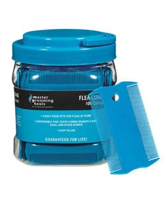 Master Grooming Tools Flea Comb Canister 100Ct