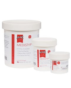 Top Performance Medistyp Powder with Benzocaine
