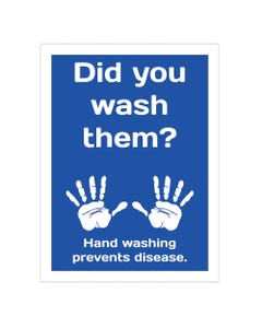 Employees Must Wash Hands Business Signs