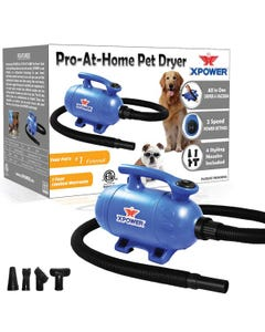 XPOWER Pro-At-Home Pet Dryer and Vacuum
