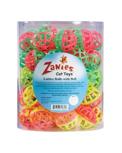 Zanies Lattice Balls Canister