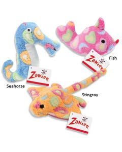Zanies Sea Charmers Dog Toys