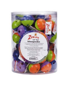 Zanies Whoopeedos Cat Toys Canister 60 pc