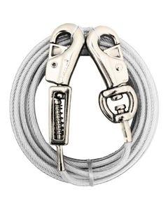 Prestige 15ft XL Dog Tie-out w Spring