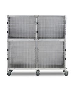 Shor-Line 6-Foot Mobile Cage Assembly, Option B