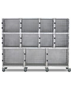 Shor-Line 9-Foot Mobile Cage Assembly, Option C