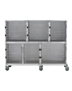 Shor-Line 7-Foot Mobile Cage Assembly, Option A