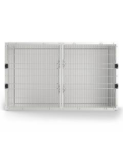 Shor-Line 5 Ft Double Door Modular Kennel