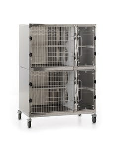 Shor-Line Stainless Steel Cat Suites