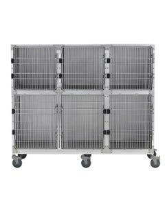 Shor-Line 6-Foot Mobile Cage Assembly, Option C