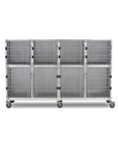 Shor-Line 8-Foot Mobile Cage Assembly, Option B