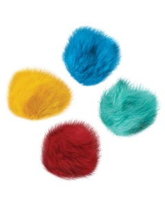 Zanies Fur Balls Cat Toys Canister, 80 pc
