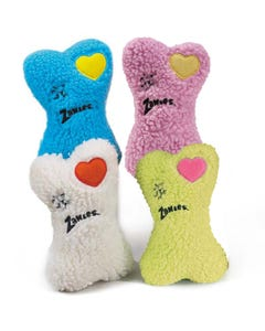Zanies Embroidered Heart Berber Bones