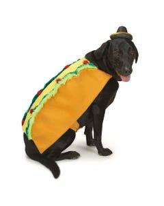 Casual Canine Tasty Taco & Sombrero Costume