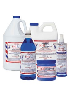H-42 Virucidal Anti-Bacterial Clean Clippers