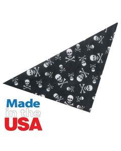 Top Performance Skulls & Crossbones Bandana Black