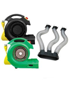 B-Air Grizzly ETL Dryer & Attachment Kits