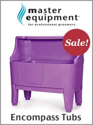 Master Equipment Dog Grooming Tubs