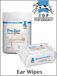 Top Performance ProEar Dog Ear Wipes