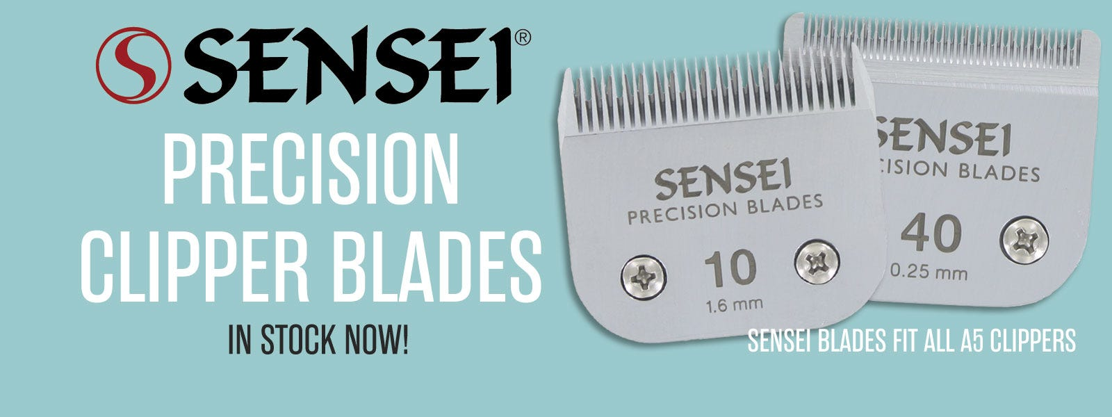 SENSEI PRECISION A5 CLIPPER BLADES IN STOCK!