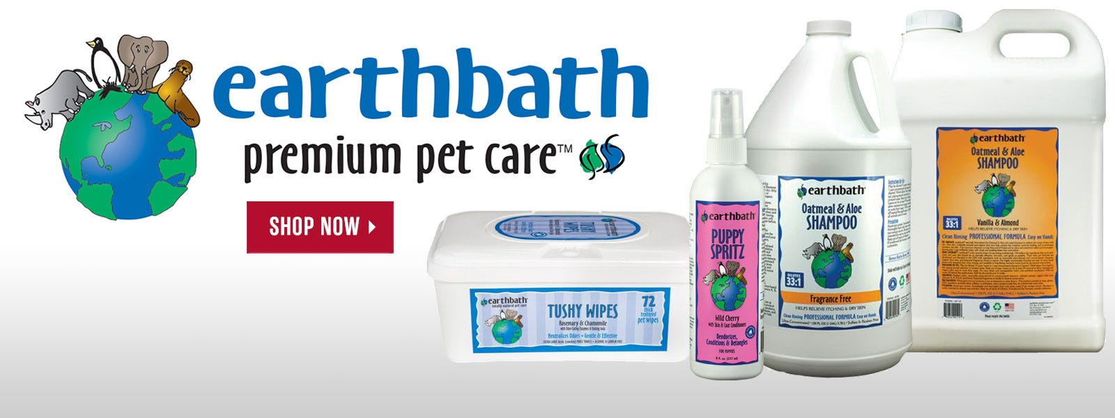 Earthbath shampoos from Earthwhile Endeavors