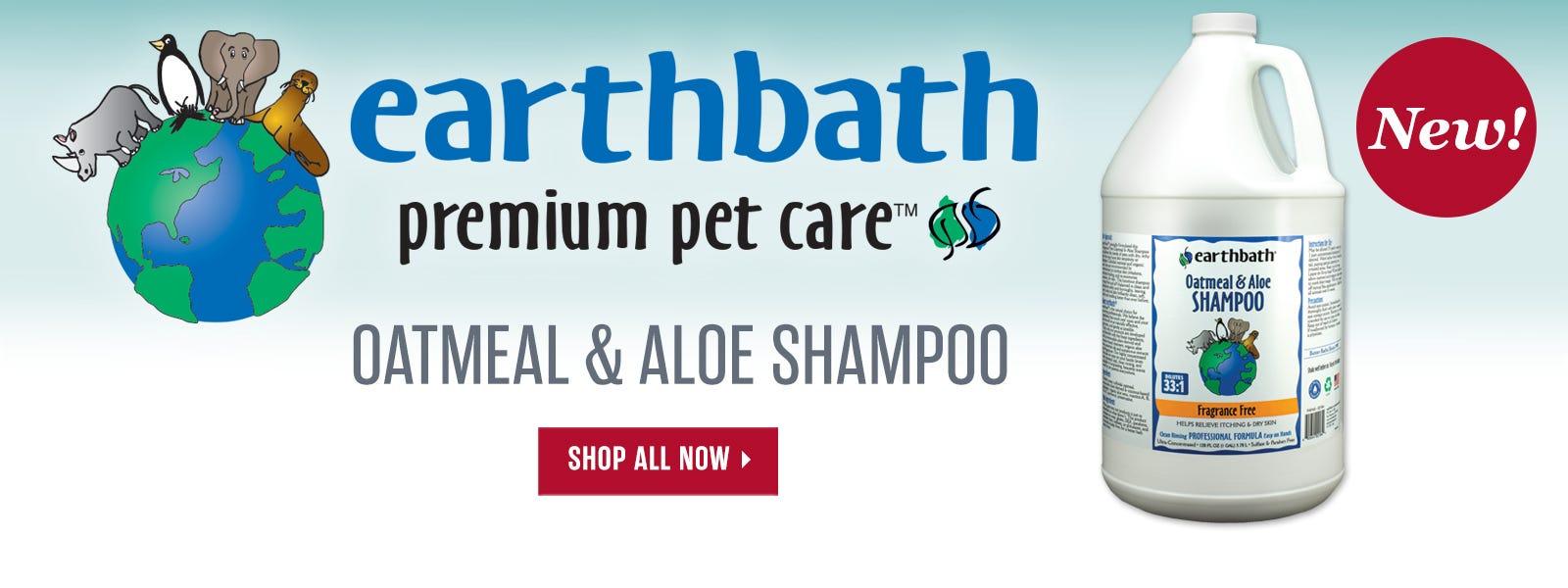 New Earthbath Oatmeal & Aloe