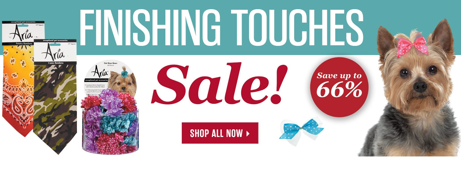 Finishing Touches Sale