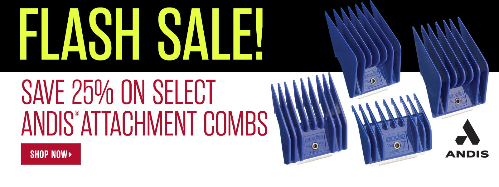 Andis Combs Flash Sale