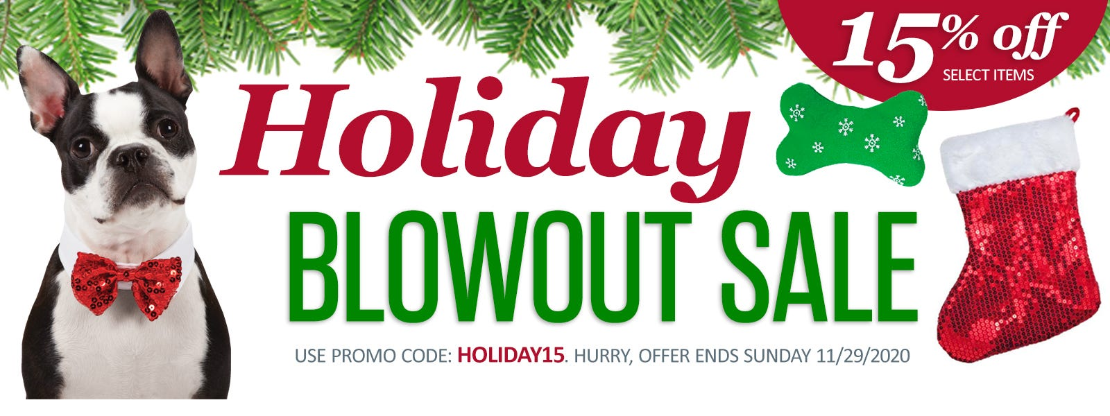 Holiday Blowout Sale!