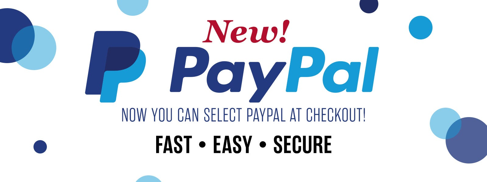New Pay with Paypal