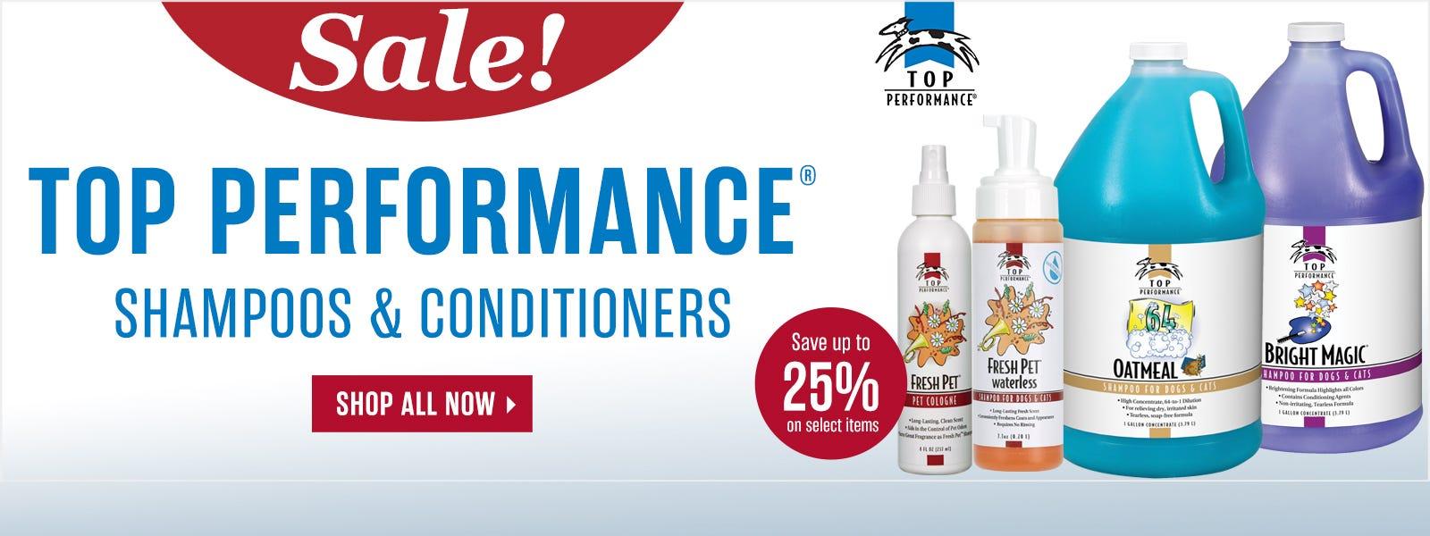 Top Performance Shampoo Sale