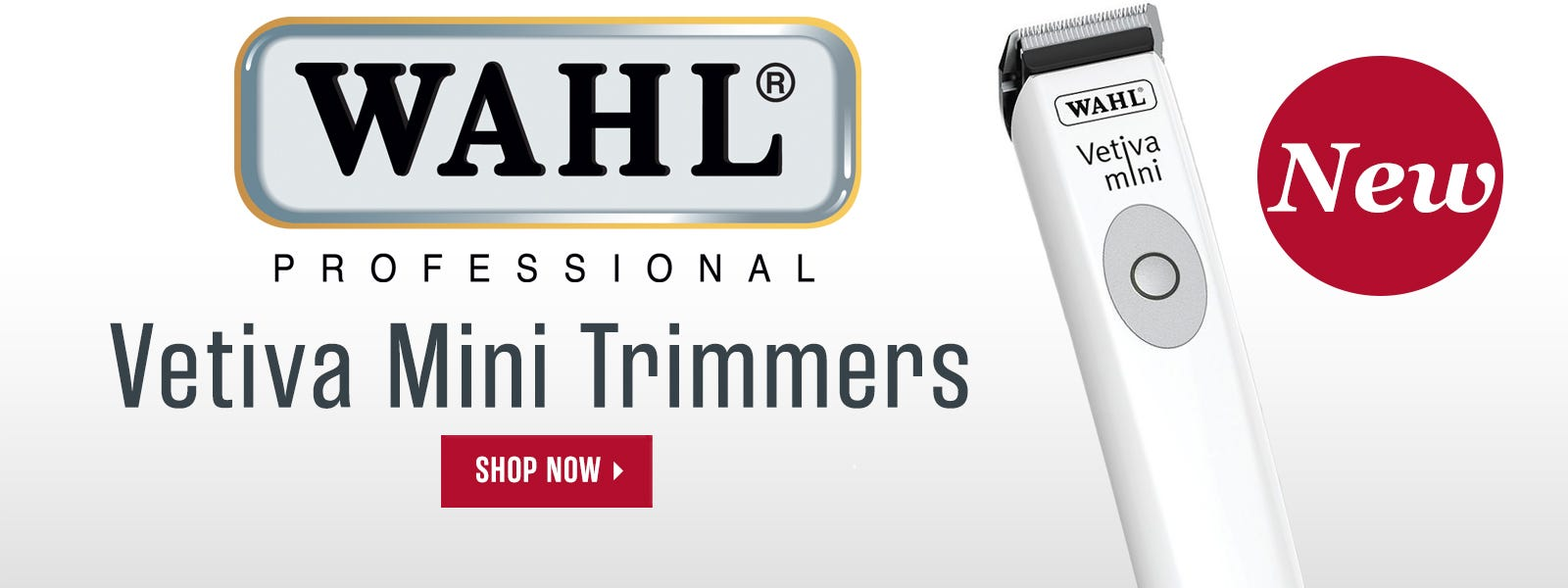 New Wahl Vetiva Mini Trimmers