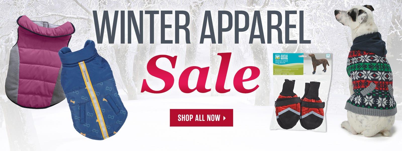 Winter Apparel Sale!