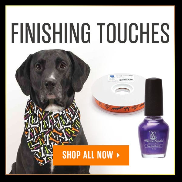 Halloween Finishing Touches Sale